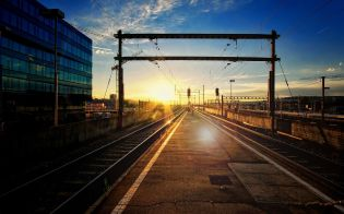 sunset-light-over-railroad-tracks-photography-hd-wallpaper-1920x1200-8156